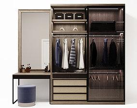 3D model men wardrobe