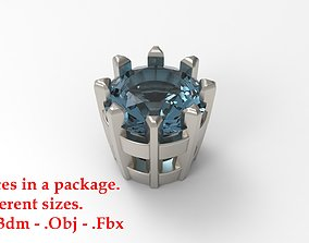 3D print model Jewelry Prong Head Set Package 143