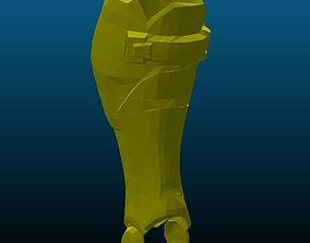 3D printable model Soldier 76 Leg Armor