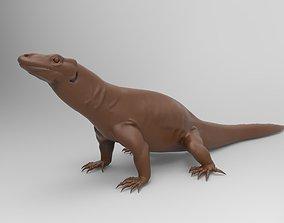 3D printable model Komodo Dragon