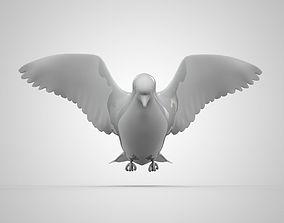 3D printable model dove1