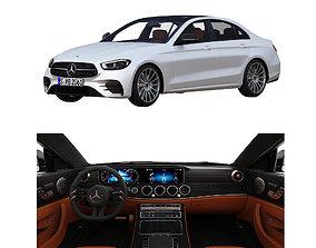 3D model e-class Mercedes Benz E class AMG-line 2021