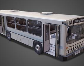 PBR Bus 3D asset