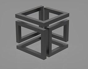 3D printable model Infinity cube