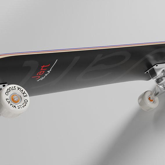 Blender Modeling ''Skate''