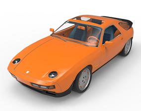 racing 3D 1981 Porsche 928