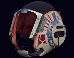 leia B-Wing Helmet from Star Wars 3D printable model