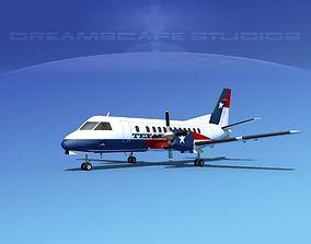 SAAB SF340 Texair 3D model