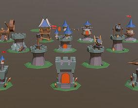 3D model Defense Set 1