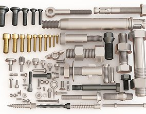 Nuts Bolts and Screws vol 03 3D