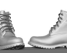 Timberland boot 3D model