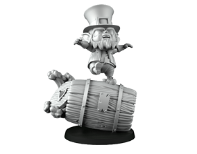 Deathroller leprechaun 3D printable model