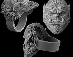 3D print model Durotan ring