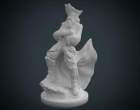 3D print model Pirate Statue