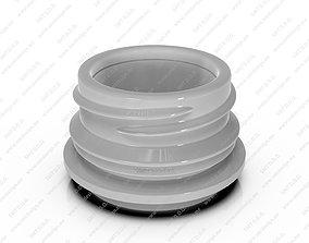Neck for bottles - PCF - 33P 3D