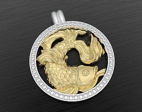 3D print model Zodiac pisces