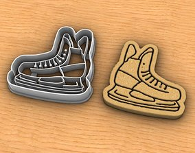 Skate cookie cutter 3D print model