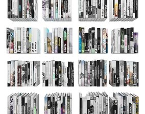 Books 150 pieces 4-8-2 3D model