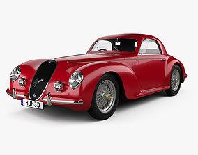 Alfa Romeo 6c 2500 Corsa Touring coupe 1939 3D