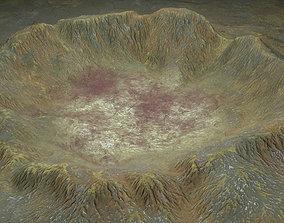 3D model Crater 4