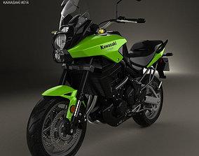 3D model Kawasaki Versys 2014