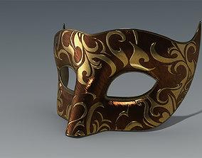 Venetian Mask 3D asset