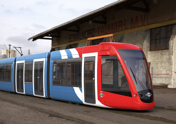 Tram Adelaide Alstom Citadis 302