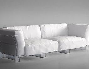 3D Kartell Pop Duo Sofa