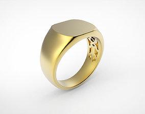 3D printable model Stamp ring