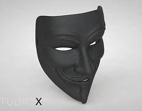 3D print model Guy Fawkes Mask