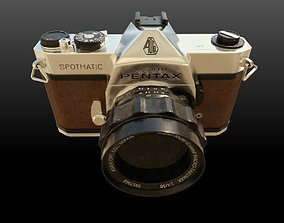 Asahi Pentax Spotmatic 3d model realtime