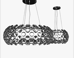 Crystal Ball chandelier by Maishang 3D model