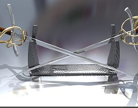 RAPIER SABER 3D printable model
