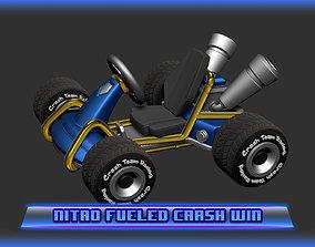 3D print model Crash Team Racing Nitro Fueled based Crash