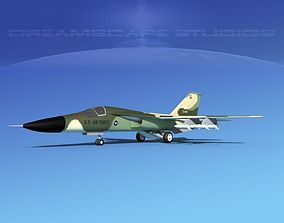 General Dynamics F-111 Aardvark v05 3D