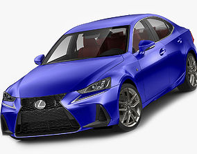 Lexus IS F-sport 2017 3D