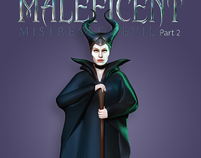 Maleficent 2 - Fan art 3D print model