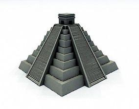Mayan Pyramid 3D printable model