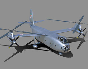 3D asset Kamov Ka-22