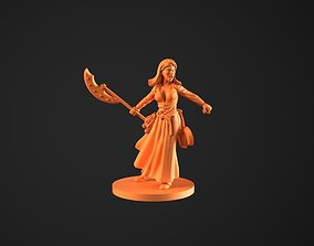 3D printable model Alice Zombiecide