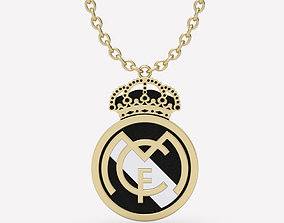 Pendant Real Madrid 3D print model