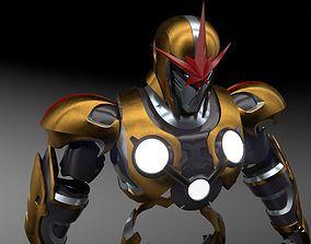 3D printable model nova prime marvel armor