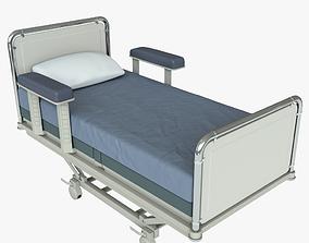 room Hospital Bed 3D model