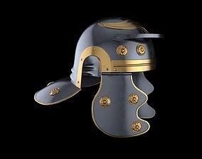 3D asset Roman legionnaire helmet