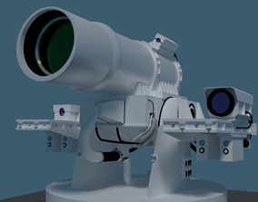 laser turret XN-1 LAWS model