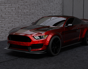 2016 Mustang GT350 RTR Wide Body 3D