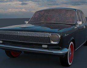 3D model GAZ-24 Volga