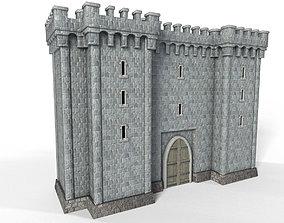 Stone tower v6 3D model