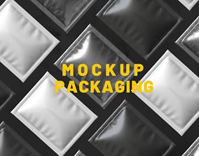3D model Mockup Packaging 02