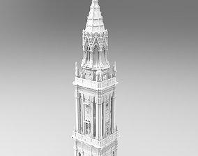 3D model London tower design